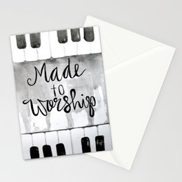 Made To Worship (tall) Stationery Cards
