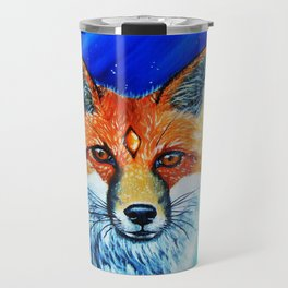 Red Fox Spirit Travel Mug