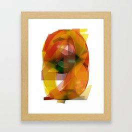 Numbers Framed Art Print