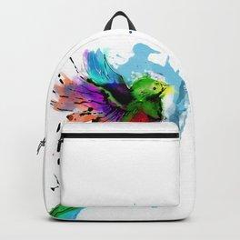 Watercolor Quetzal  Backpack