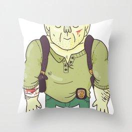 Yippee Ki Yay, MF Throw Pillow