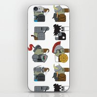 heavy metal iPhone & iPod Skins featuring Heavy Metal by nobleplatypus
