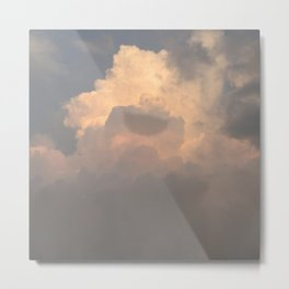 Cloud Monster Metal Print