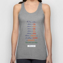 Think About Such Things . . . Unisex Tank Top