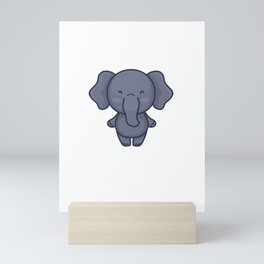 I Do What I Want Funny Elephant Elephants Mini Art Print