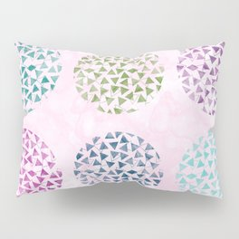 colorful geometric Pillow Sham