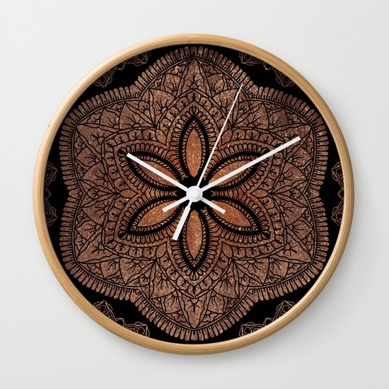 MANDALA Wall Clock by Joel Amat Güell