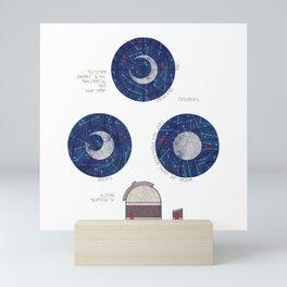 Charting the Nightsky Mini Art Print