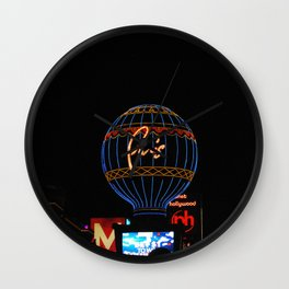 Paris in Las Vega Wall Clock