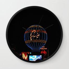 Paris in Las Vega Wall Clock