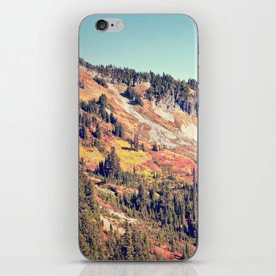 Fall Mountain iPhone & iPod Skin