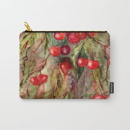 October Cherries Carry-All Pouch