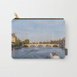 Pont Royal over the Seine river - Paris, France Carry-All Pouch