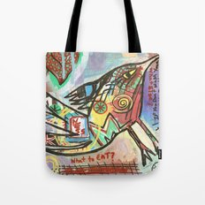 What to Eat Tote Bag