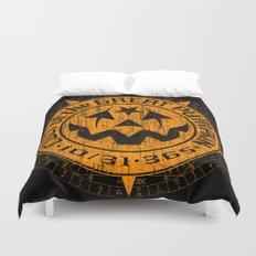 Cult of the Great Pumpkin: Alchemy Logo Duvet Cover