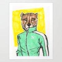 Runner Art Print