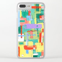 Cocktails in the City Clear iPhone Case