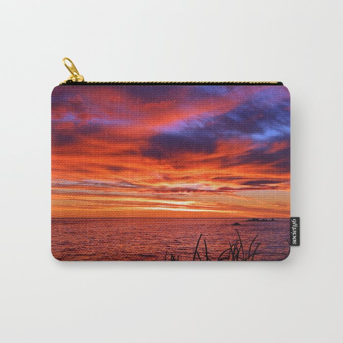The Mighty Saint-Lawrence at Dawn Carry-All Pouch