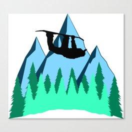 Grab Canvas Print