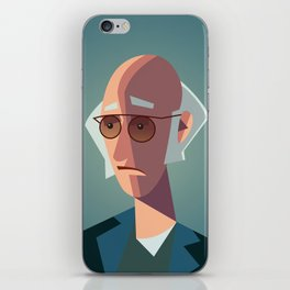 Larry David Seinfeld Curb Your Enthusiasm iPhone Skin