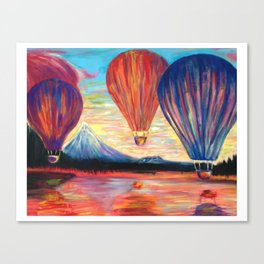 Happy Flight Canvas Print