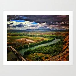 La Rioja  Art Print