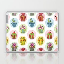 Quirky Cupcakes Laptop & iPad Skin