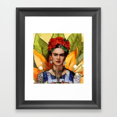 MI BELLA FRIDA KAHLO Framed Art Print