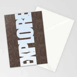 Explore Climbing 1 Stationery Cards