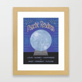 Psychic Readings  Framed Art Print
