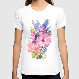 Pink Lavender Peony T-shirt