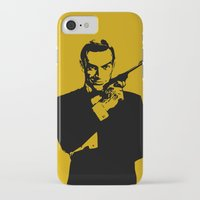 james bond iPhone & iPod Cases featuring James Bond 007 by Walter Eckland