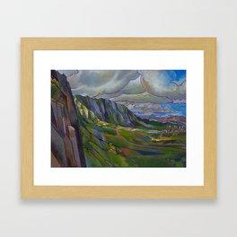 Windward Passage Framed Art Print