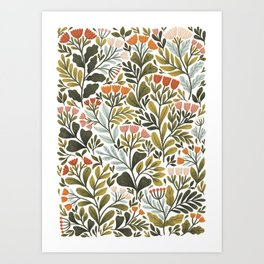 Month of May ~ white Art Print