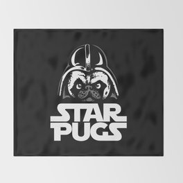 Welcome to the Dark Side Throw Blanket