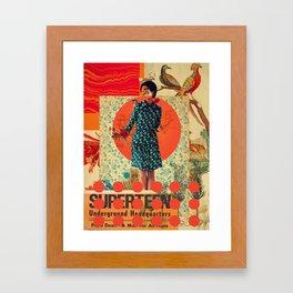 Superteen Framed Art Print
