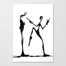 DANCE for me ...  Canvas Print