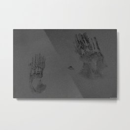 Invisible War Wounds Metal Print