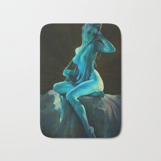 pin UP Girl Blue Dreams Bath Mat