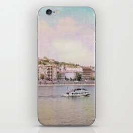 Dreamy Riverboat Cruising the Danube River in Budapest iPhone Skin