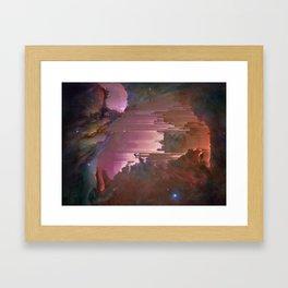 Mostly Pink Framed Art Print