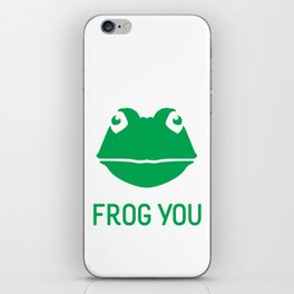 Frog You iPhone Skin