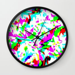 Speckled Stardust Wall Clock