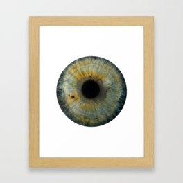 EYE Love to See You, Green Framed Art Print