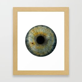 EYE Love to See You, Green Framed Art Print