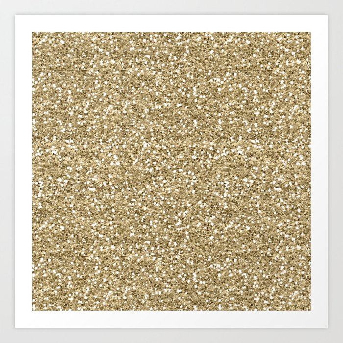 Glitter - Gold 1. Kunstdrucke