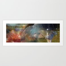 On the Lamb Art Print