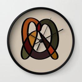pretzel Wall Clock
