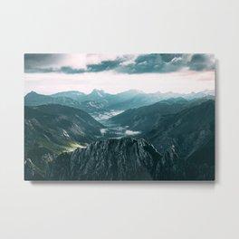 Stormy Sunrise Metal Print