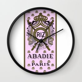 ABADIE  rolling papers Wall Clock